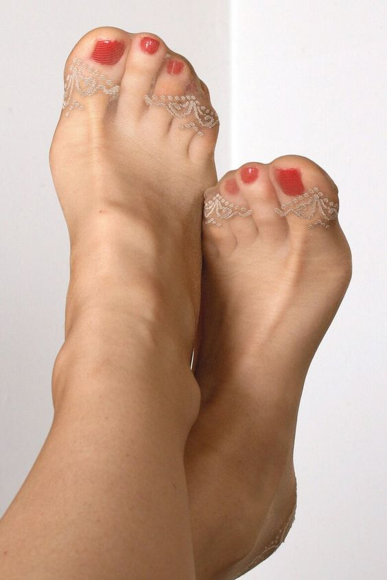 Womens Sexy Nylon Foot 106
