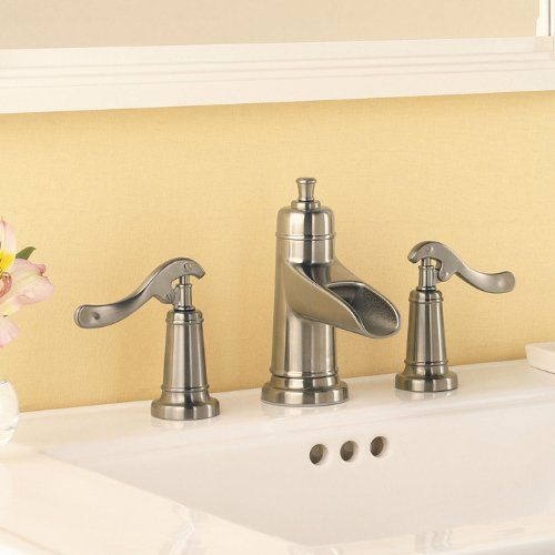 Pfister T49yp1k Ashfield 8 Inch Widespread Bathroom Faucet Brushed Nickel