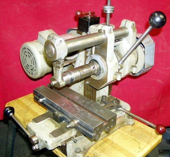 barker horizontal milling machine