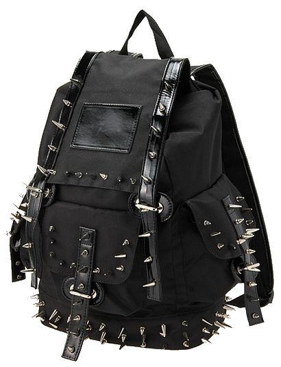 Spikey backpack