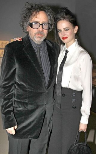 Eva Green with her Boyfriend Tim Burton