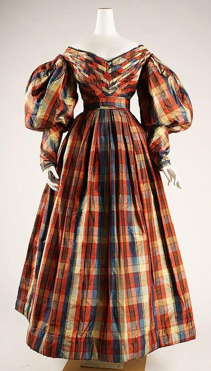 Silk dress (British) | ca. 1830 | Met Museum