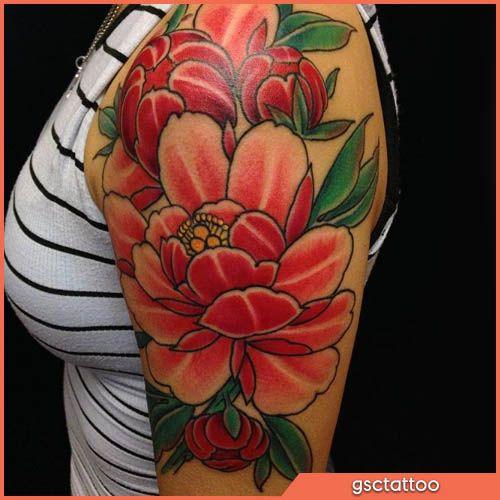 Tatuaggio Fiore Di Loto Giapponese Japanese Lotus Flower