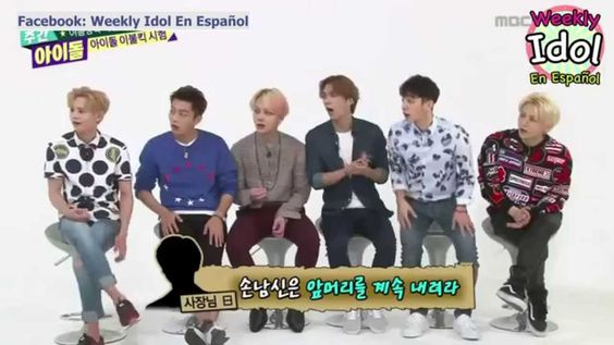 [SUB ESPAÑOL] 29.07.15 - Weekly Idol B2ST (2/4)