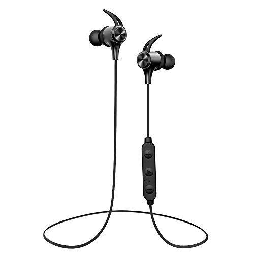 Wireless Headphones Boltune Bluetooth 5 0 Ipx7 Waterproof 16 Hours Playtime Bluetooth Headph In 2020 Waterproof Headphones Wireless Headphones Bluetooth Headphones