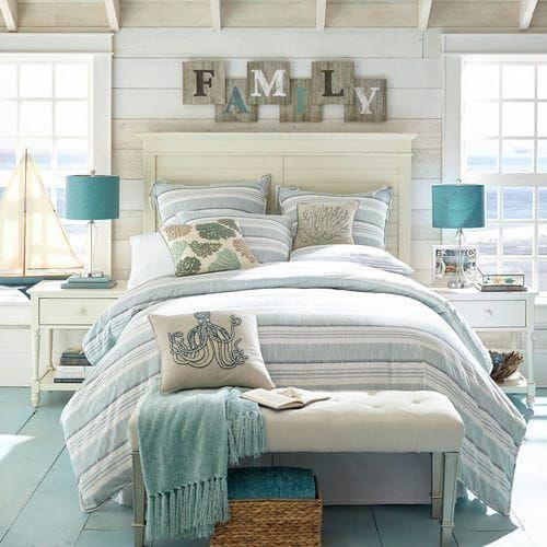 Coastalstyle Coastal Master Bedroom, White Beach House Bedroom Furniture