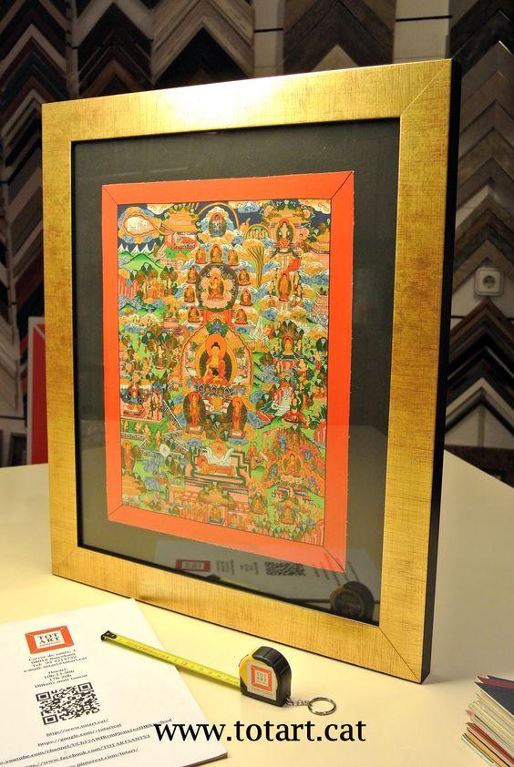 Ideas para mandalas and barcelona on pinterest - Enmarcar cuadros ...