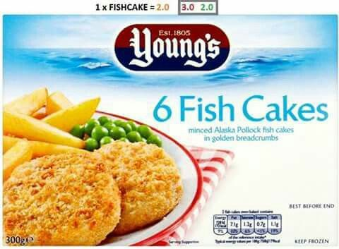 Young S Fish Cakes Syns