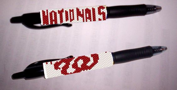 Looking for your next project? You're going to love Washington Nationals G2 Pen…