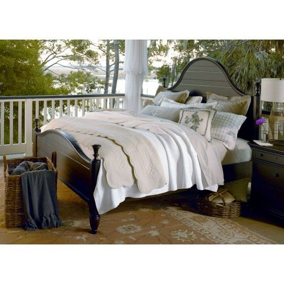 Paula Deen Down Home 4 Pc Twin Bedroom Set in Molasses...I like the way the bed is dressed
