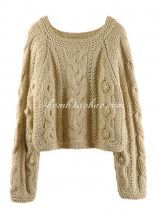 Big comfy sweater! I'm ready for fall!