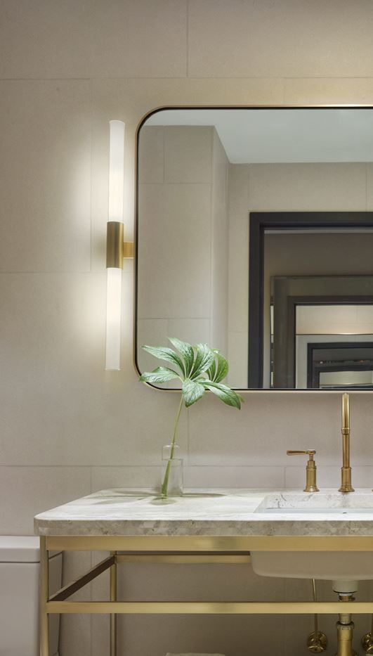 Bathroom Vanity Lights Hotel : bathroom mirror lighting 11 Howard Hotel RESIDENTIAL DESIGN Pinterest Vanities ...