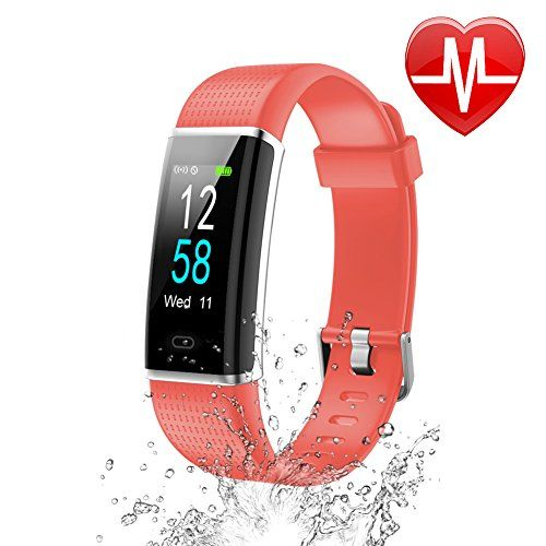 Letsfit Fitness Armband Mit Pulsmesser Fitness Tracker