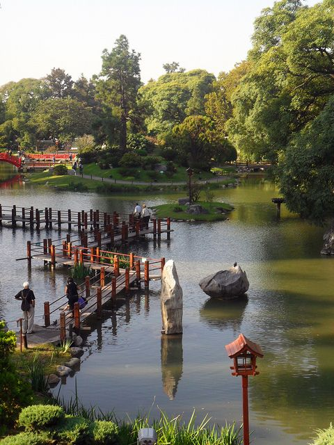 Complejo cultural y ambiental jard n japones gardens for Jardin japones