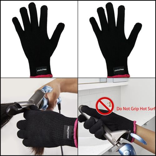Heat Resistant Glove For Hair Styling Heat Blocking For Curling Flat Iron Heat Resistant Gloves Flat Iron Curls Hair Styles