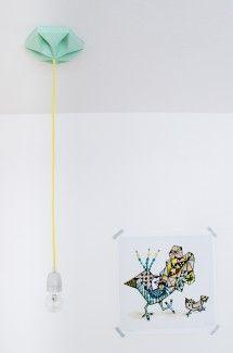 Kroonuppe (Paper ceiling rose) / by Studio Snowpuppe