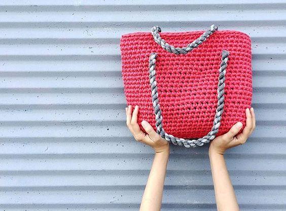сумка из т-пряжи