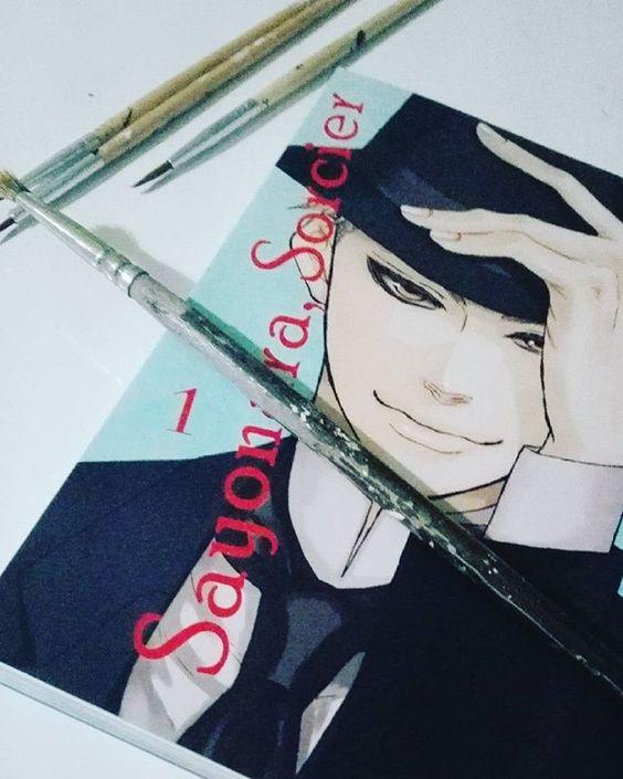 Empezando nuevo manga #milkywayediciones #instamanga #manga #sayonarasorcier: