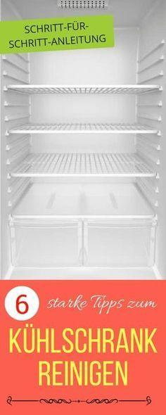 Kühlschrank Desinfizieren kühlschrank reinigen beste tipps