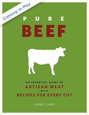 Got this one in the mail today! I've barely cracked it open and love it all ready. All about grass fed beef and a recipe for every cut.