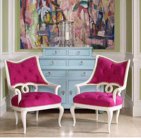 Amei a cor das cadeiras