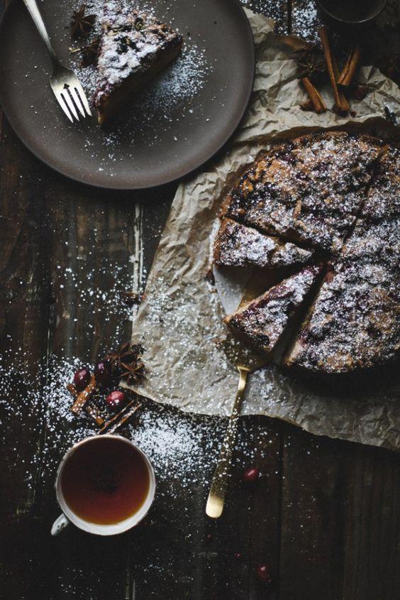 Fresh cranberry coffee cake recipe