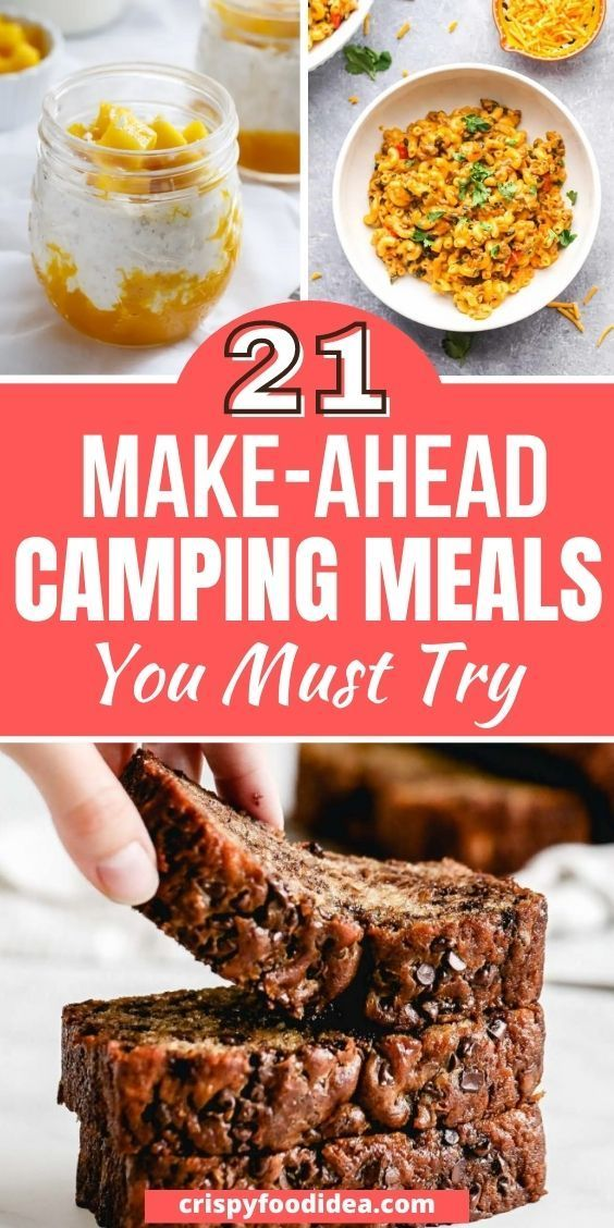 make-ahead camping meals