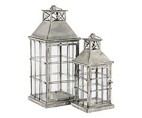 Set di 2 lanterne in ferro battuto Dauphine - max 22x58x22 cm