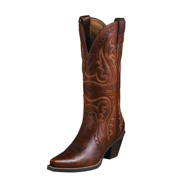 Heritage Western X-Toe Ladies&39 Cowgirl Boot By Ariat | Technology