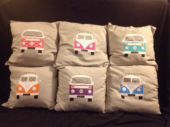 VW cushions by Giggle Creations:
