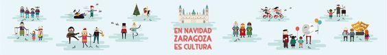 Ayuntamiento de Zaragoza. Navidad 2015: