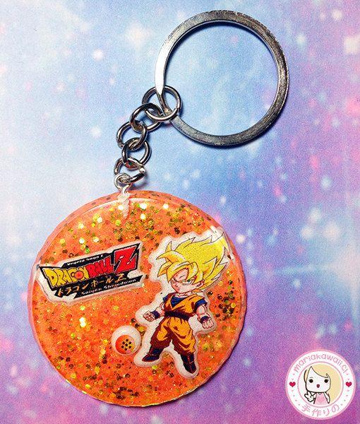 Llavero Goku Dragon Ball Z por mariakawaiistore en Etsy
