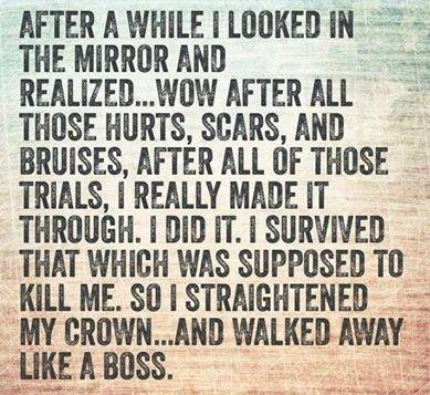 Straighten your crown....