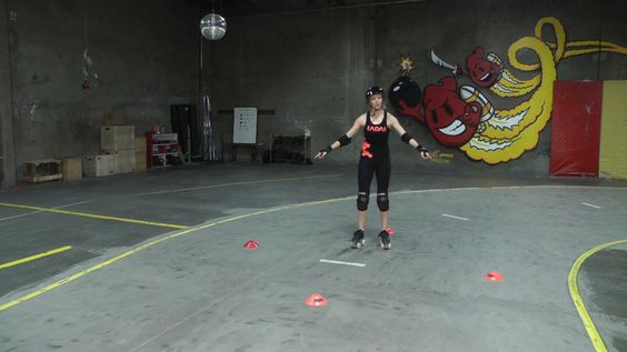 Part 3 of Ghettos series of Footwork Cone Drills. Improve your footwork, edging, balance, and power.
