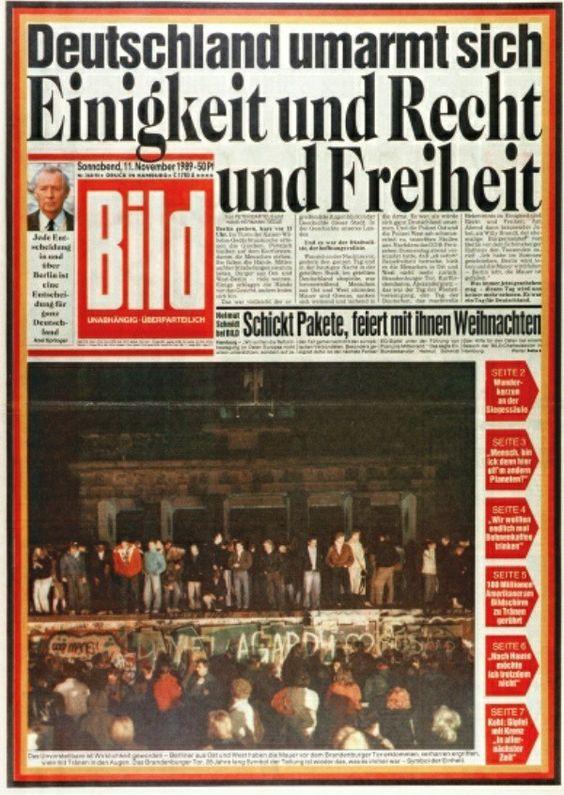 Titelseite Bild 1989