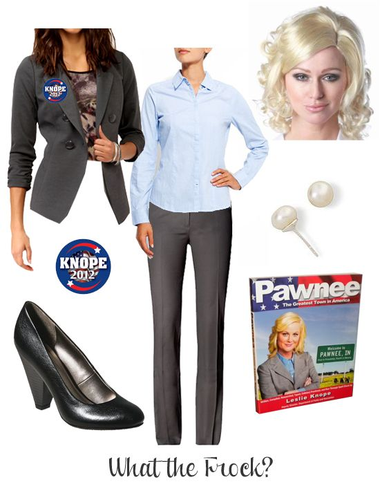What the Frock? - Affordable Fashion Tips and Trends: Leslie Knope Halloween Costume