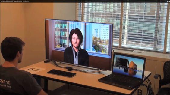 Maschine analysiert nonverbale Kommunikation: MIT entwickelt automatischen Coach, um in Bewerbungsgesprächen besser abzuschneiden.