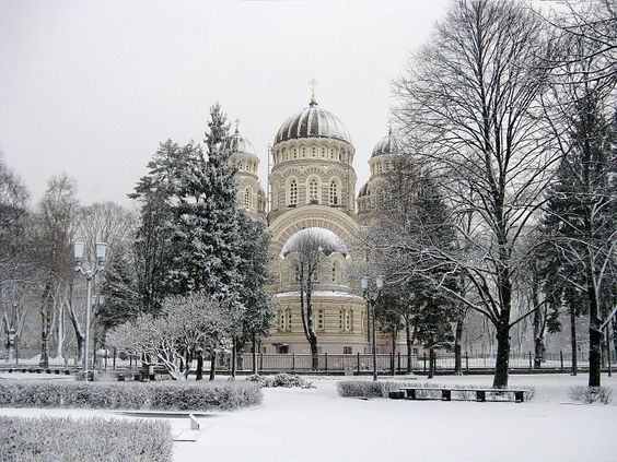 Nativity of Christ Cathedral in Riga -- 2011/2012