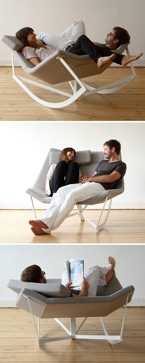 Markus Krauss - Sway rocking chair. I want it.