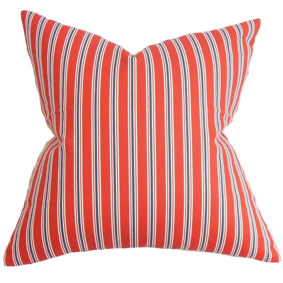 Nouvel d 18-inch Feather and Down Filled Decorative Pillow