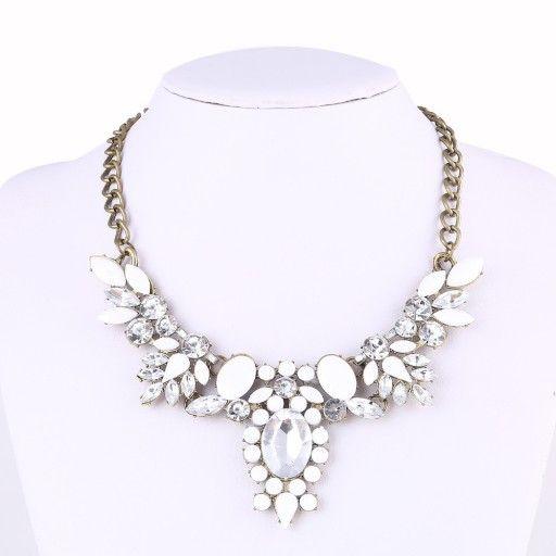 Naszyjnik Kolia Celebrytka Zlota Choker Cyrkonie 6504222183 Oficjalne Archiwum Allegro Jewelry Pearl Necklace Necklace