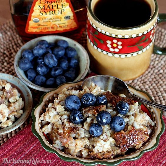 Groatmeal: Nourishing Slow Cooker Oat Groats - The healthiest oatmeal of them all. Easy & delicious, too!