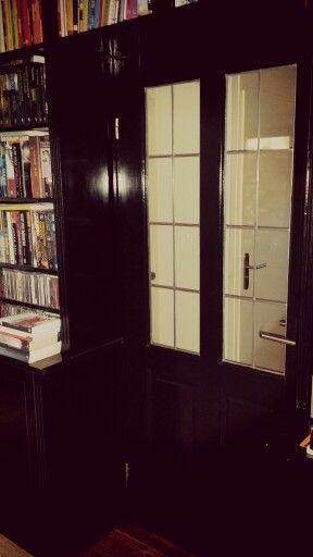 Opwarmer #deuren en #hoeken met daarin onze boeken #synchroonkijken