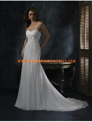 Elegant Chiffon Wedding Dresses