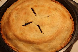 Tourtiere - The classic French Canadian/Acadian meat pie, filled with a delicious ground pork and potato stuffing. C'est magnifique!!!
