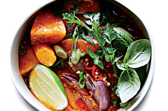 Find the recipe for Sweet Potato Curry and other sweet potato/yam recipes at Epicurious.com