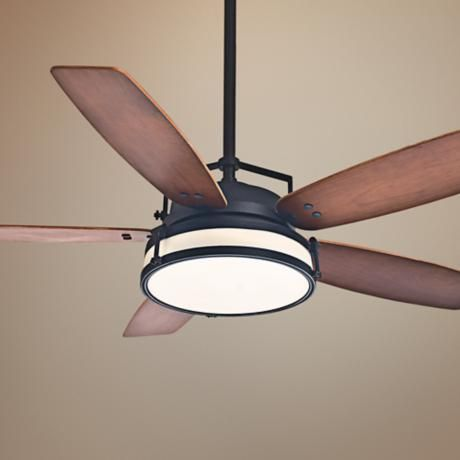 "56"" Casablanca Caneel Bay Maiden Bronze Outdoor Ceiling Fan"