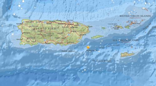 [AHORA] Reportan temblor cerca de Islas Vírgenes   Se sintió en...