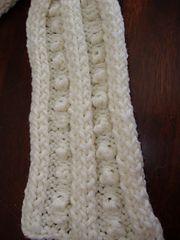 Ravelry: Easy Bobble Scarf pattern by Linda Hurst
