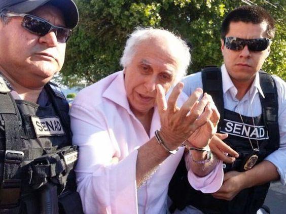 Ex-médico Roger Abdelmassih é preso no Paraguai, diz PF . Prisão foi efetuada em Assunção pelo governo paraguaio com apoio da PF. Condenado a 278 anos de prisão, Abdelmassih era procurado desde 2011.  http://g1.globo.com/sao-paulo/noticia/2014/08/pf-anuncia-prisao-do-medico-roger-abdelmassih-no-paraguai.html